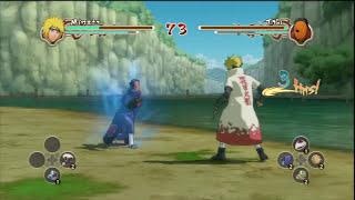 Naruto Ninja Storm 2 - Minato VS Tobi