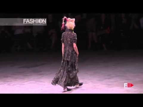 """YOHJI YAMAMOTO"" Fashion Show Spring Summer 2014 Paris HD by Fashion Channel"