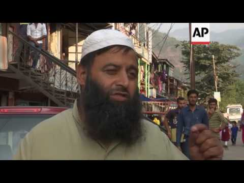 Troops patrol Indian-controlled Kashmir