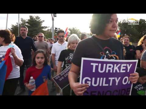 102 Years Of Denial   The Armenian Genocide   March For Justice In Las Vegas April 24 2017
