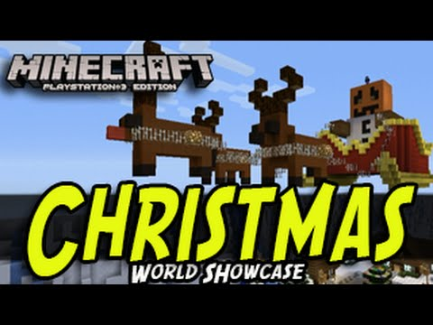 Christmas Minecraft World.Minecraft Ps3 Christmas World Minecraftvideos Tv