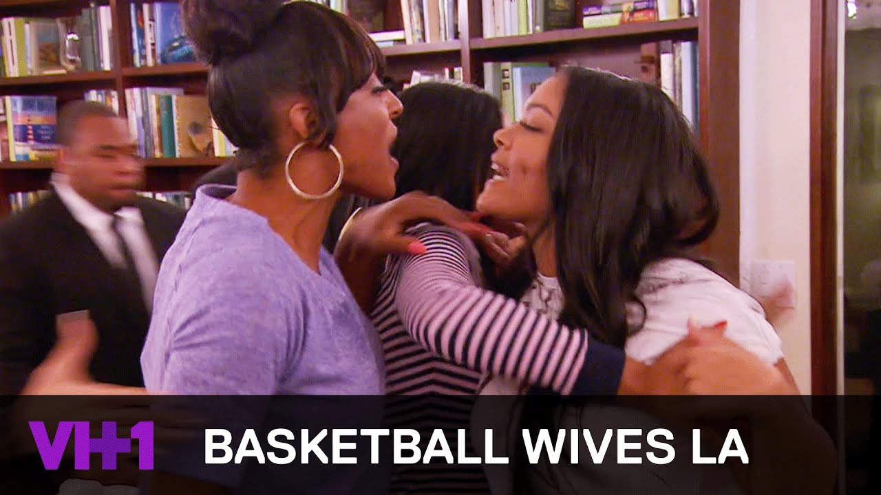 basketball wives la mehgan james loses her temper vh1 youtube