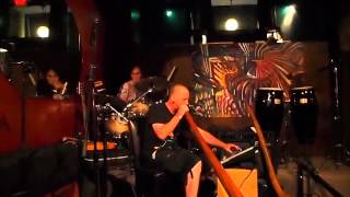 didgeridoo dubstep The Urban Shaman Live at the Emerald Lounge Cannabis Cafe