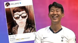 Son Heung-min reacts to his old Instagram posts! | Insta Stories 📲