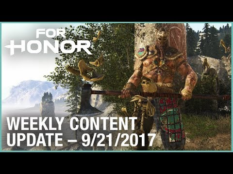 For Honor: Week 9/21/2017 | Weekly Content Update | Ubisoft [US]