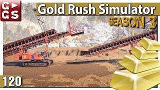 GOLDGRÄBER SIMULATOR 💰 BAGGERN XXL #120 Gold Rush Gameplay deutsch