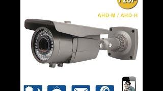 Обзор AHD камеры Techage YN-AHD-BT701F 2.8-12mm varifocal lens (720P) на сенсоре SOI H42