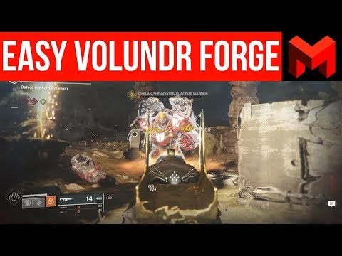 Volundr Forge Guide for Noobs: How to Easily Beat it (Destiny 2 Black armory) thumbnail