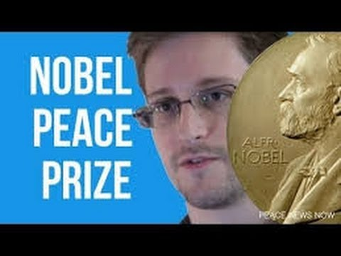 NSA Whistleblower Edward SNOWDEN Has Been NOMINATED for the NOBEL PEACE PRIZE
