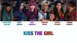 Kiss The Girl Lyrics - Descendants 2