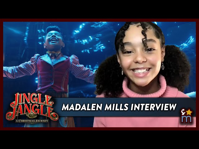 Netflix's JINGLE JANGLE Star MADALEN MILLS Shares Casting Story & Favorite On Set Moments