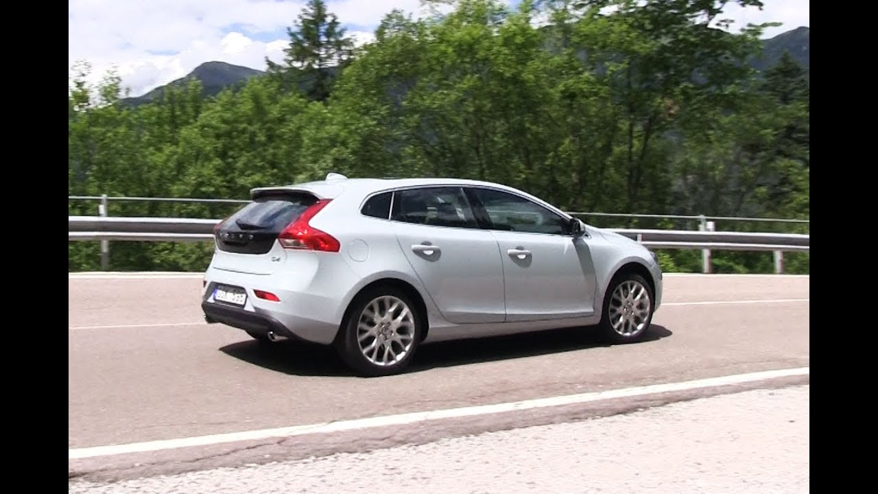 volvo v40 d4 roadtest english subtitled youtube. Black Bedroom Furniture Sets. Home Design Ideas