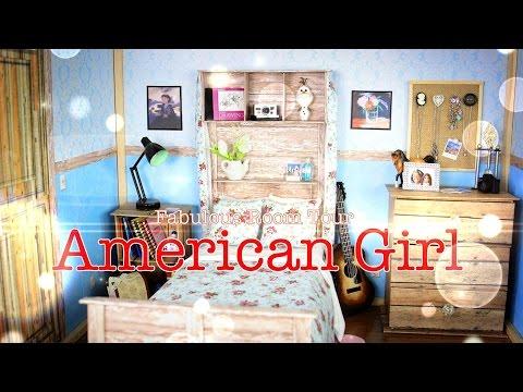 Fabulous Room Tour:  American Girl Room