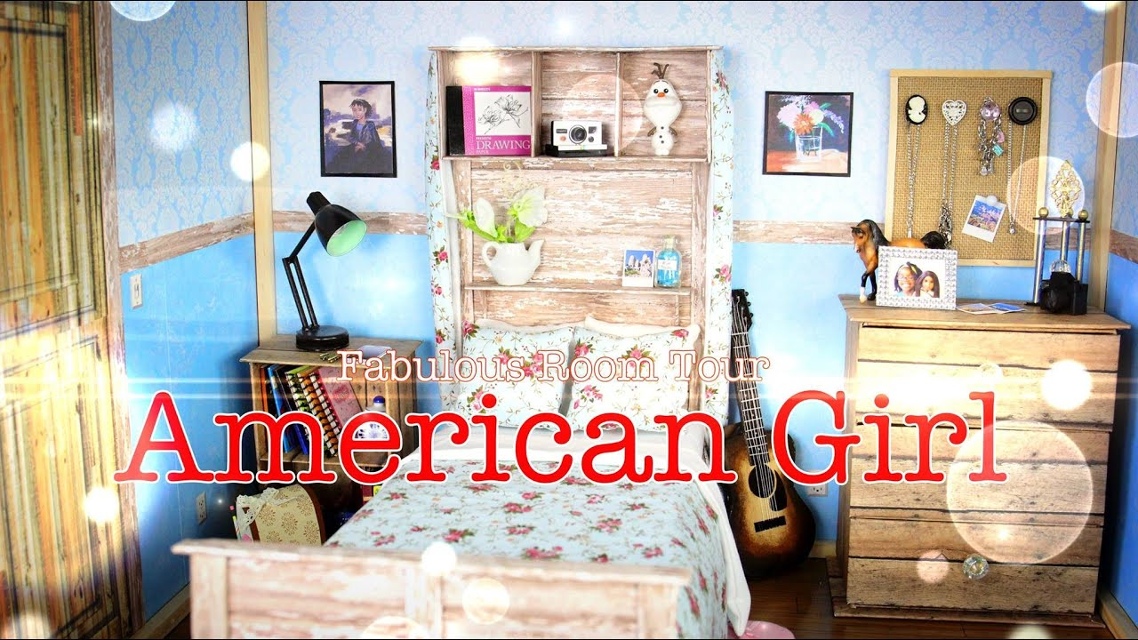 fabulous room tour american girl room youtube