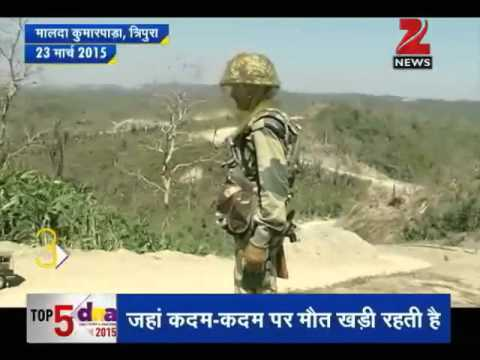 DNA: Malaria biggest enemy of Indian border guards in northeast