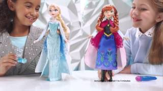 Hasbro - Disney Frozen - Elsas and Anna`s Magical Story Cape