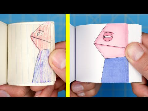 Remaking My First Flipbook 30 YEARS LATER