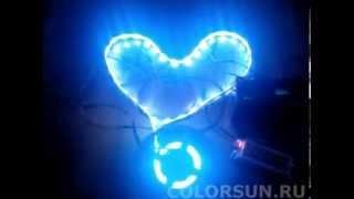 Светодиодная лента подсветка авто автомобиля RGB LED strip auto(Купить светодиодную ленту https://goo.gl/Of3Y90 Купить блок питания для светодиодной ленты https://goo.gl/BVI2Zz Светодиодная..., 2014-01-17T09:54:17.000Z)