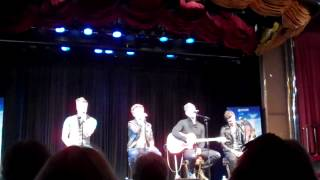 "Gambar cover Anthem Lights ""My Jesus I Love Thee"" live acapella-Karen Kingsbury cruise"