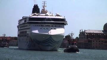 NORWEGIAN SPIRIT & WEB CAM-ISMAR venezia 05/05/2014