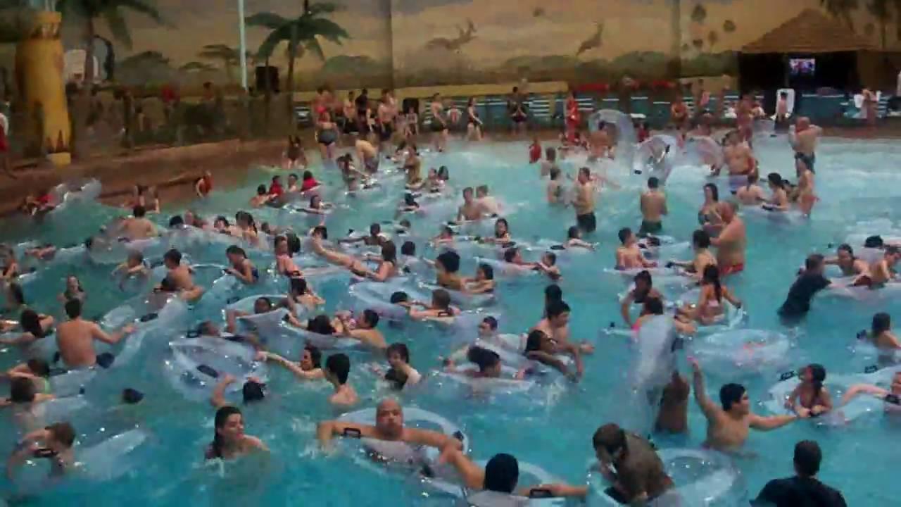 Kalahari Indoor Water Park Sandusky Ohio March 2010