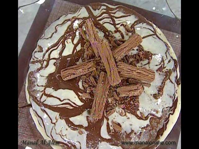 طريقة عمل كيك الشوكولاتة - مطبخ منال العالم