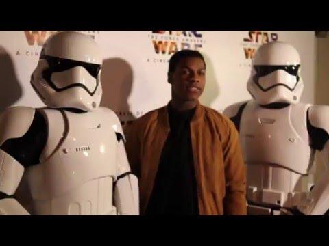 John Boyega Surprises Fans At Secrets of The Force Awakens: A Cinematic Journey Screening
