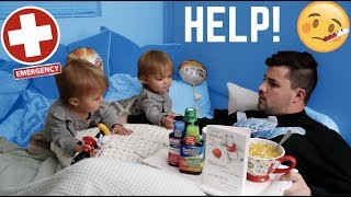 WHATS WRONG WITH DADDY? **VERY SICK**