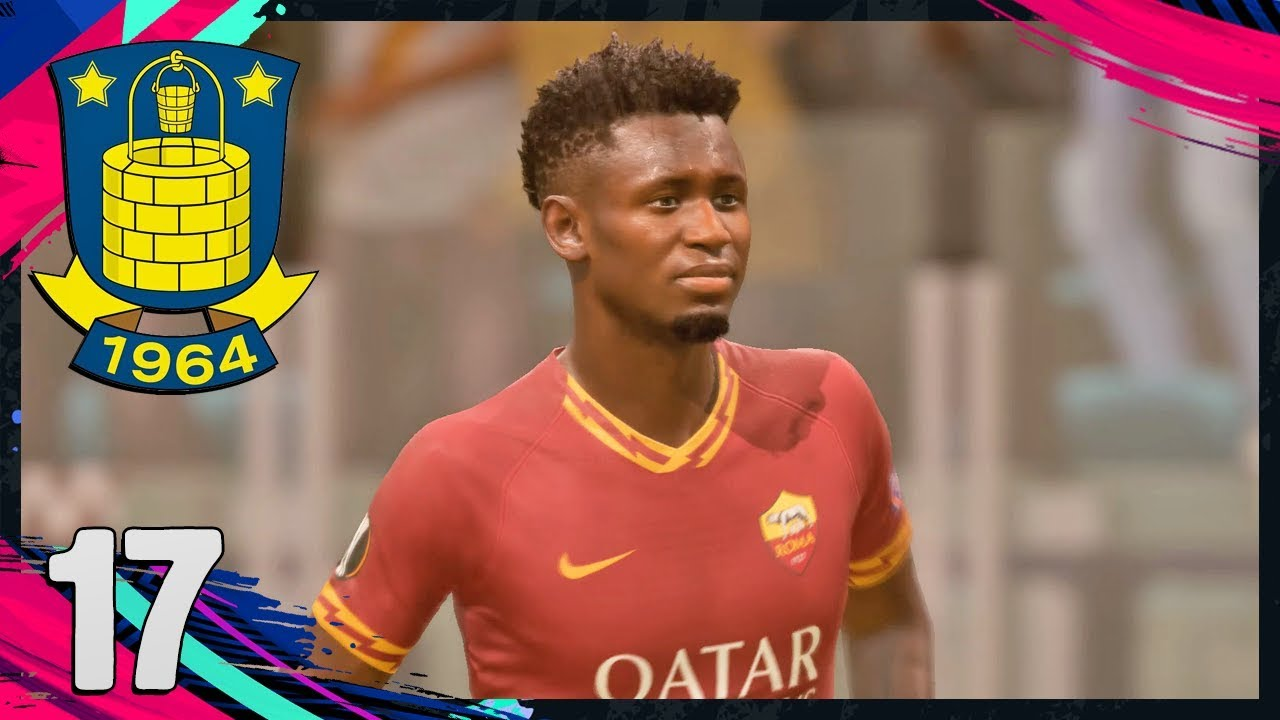 AS ROMA I EUROPA LEAGUE! | Dansk FIFA 20: Brøndby IF #17