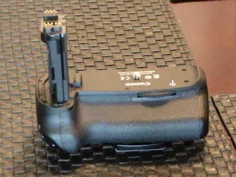 CANON 80D battery grip Review BG E14
