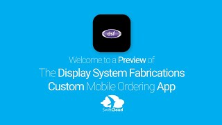 Display System Fabrications - Mobile App Preview - DIS934W