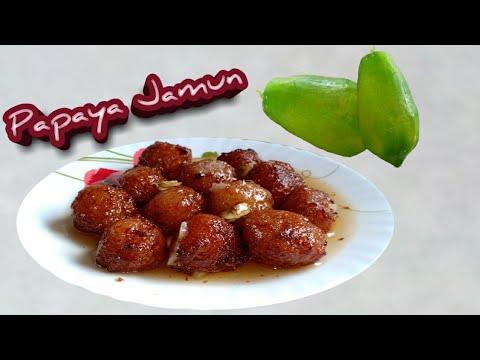 How to make Jamun with Papaya