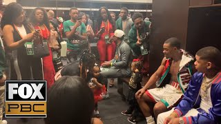 inside-errol-spence-jr-s-locker-room-after-his-win-over-mikey-garcia-pbc-on-fox