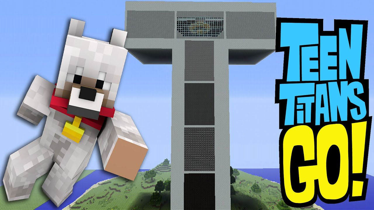 Minecraft Xbox Murder Mystery – Teen Titans Tower