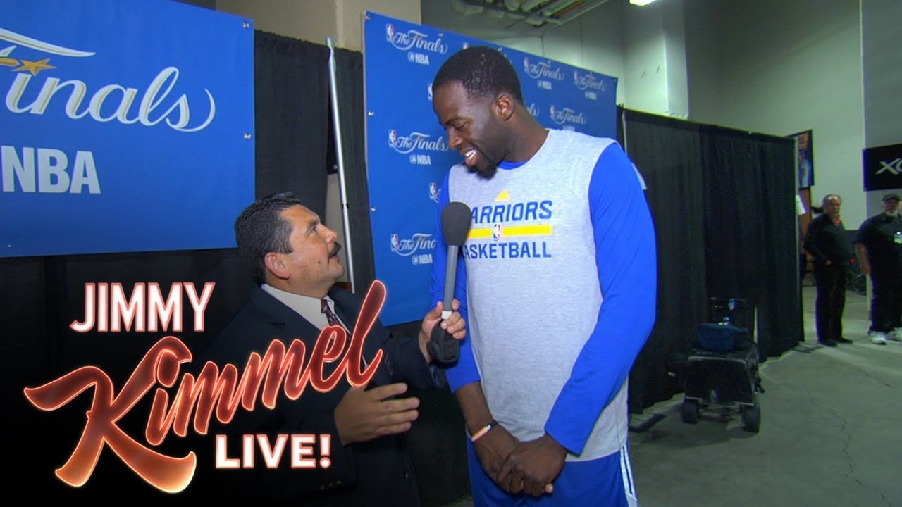 94a06ab9b43 Guillermo vs LeBron James at 2017 NBA Media Day - YouTube