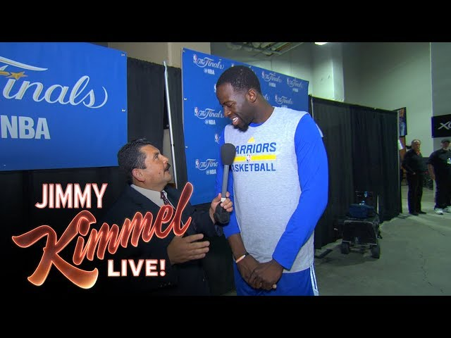 Guillermo vs LeBron James at 2017 NBA Media Day