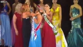 Miss Amazon Runner-Up Snatches Crown Off Winner