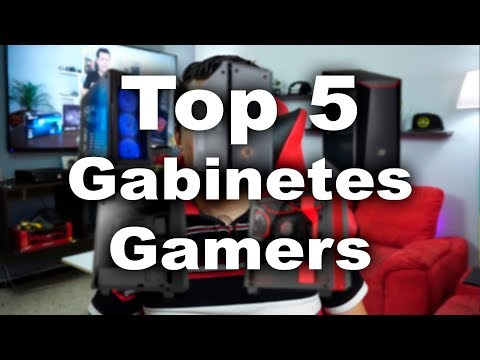 Top 5 Gabinetes Gamers - Proto HW & Tec