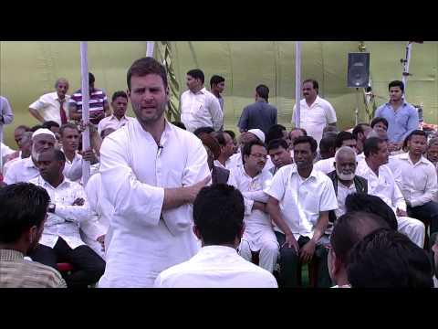 Rahul Gandhi's interaction
