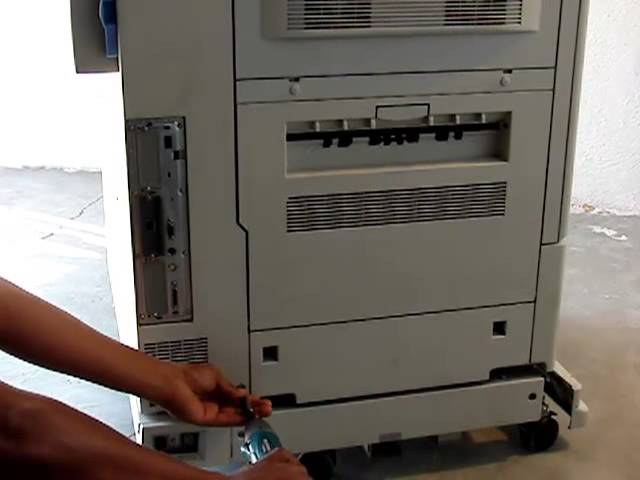 como desarmar la impresora hp laserjet color 9500
