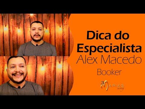 TV 3Marias: Dica do Profissional - BOOKER - Alex Macedo