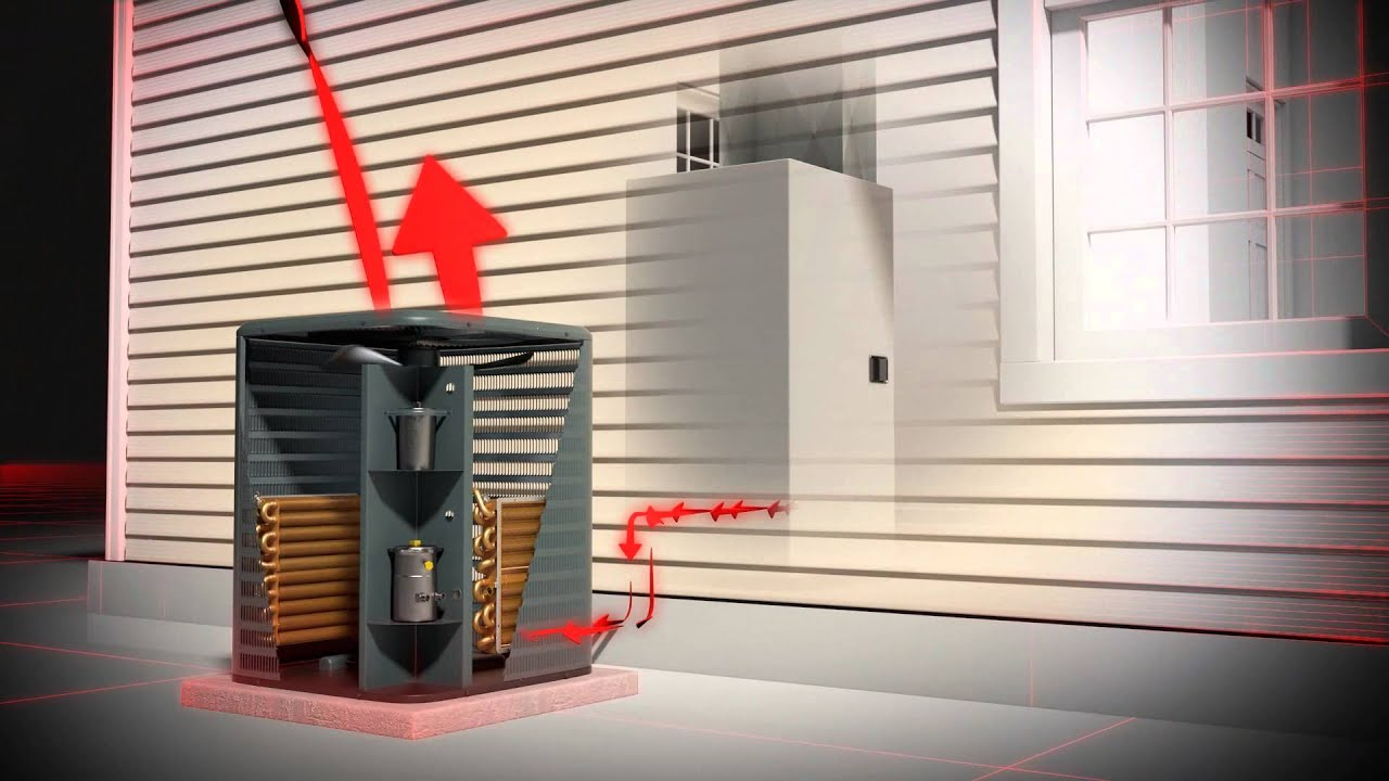 How It Works Air Source Heat Pump