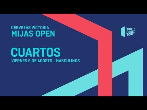 Cuartos de final masculinos - Cervezas Victoria Mijas Open 2019 - World Padel Tour