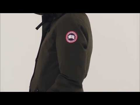 Canada Goose Rideau Parka Military Green Style 3800L