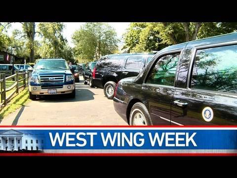 "West Wing Week: 8/20/10 or ""Turkey Turkey and a Jammer"""