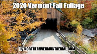 Fall in Vermont 2020 -  4K Fall Foliage by northernvermontaerial.com
