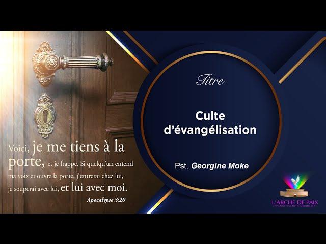 Le Salut - Pasteur MOKE - Dimanche 26 Sept. 2021