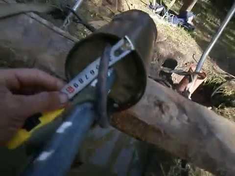 Как почистить скважину своими руками видео
