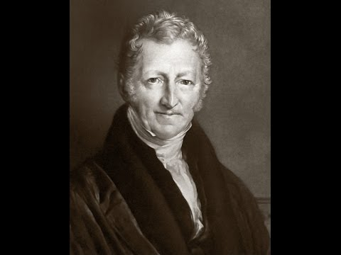 Malthus, population growth and the resource base
