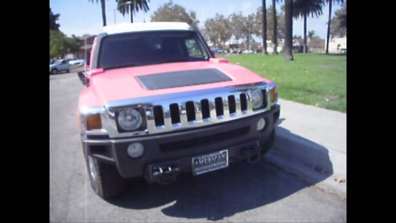 2010 Pink 140 inch Hummer H3 Limousine for sale